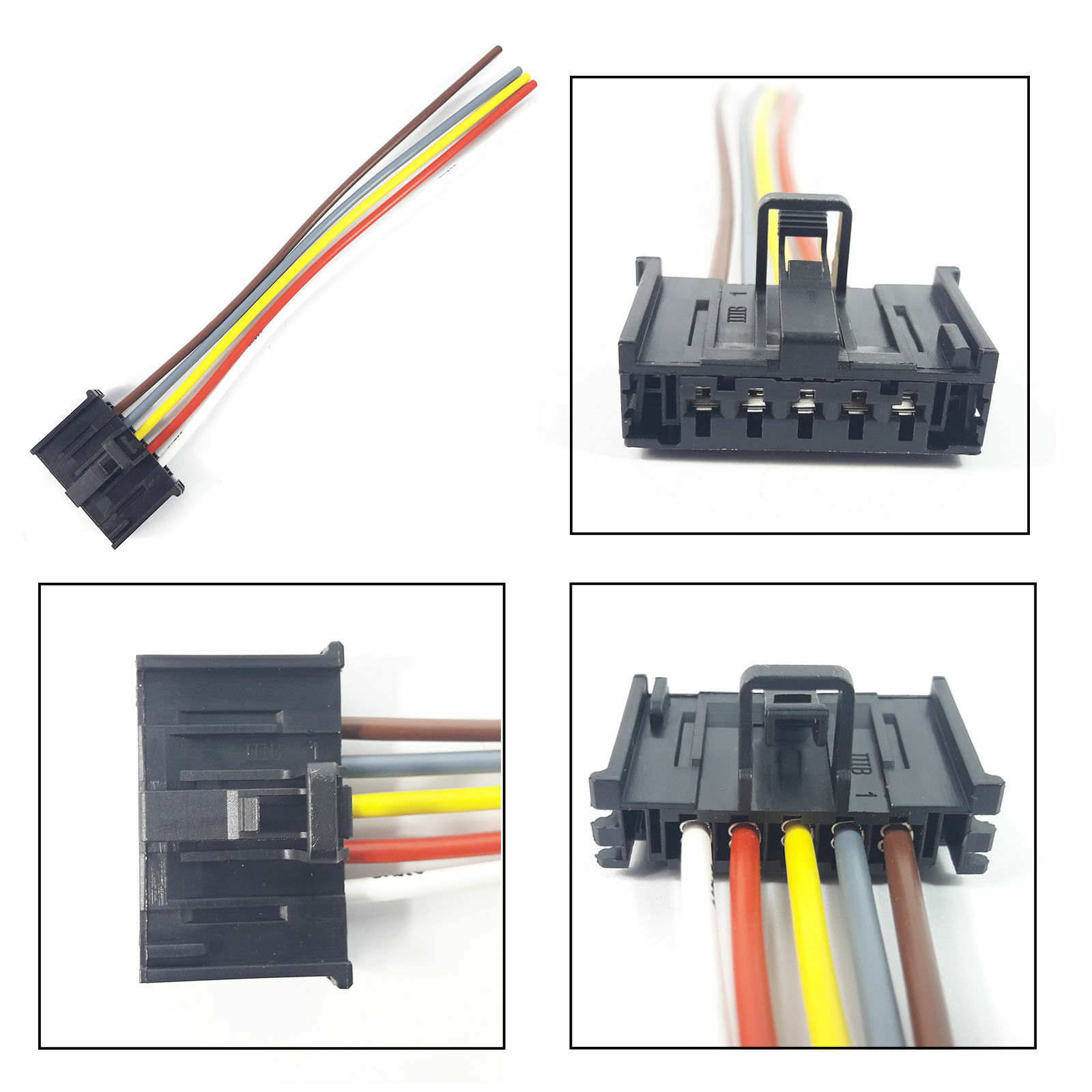 Fiat Wiring Harness Ducato Punto Stop Plug Extension Loom 5 Pin 1 Of 1free Shipping