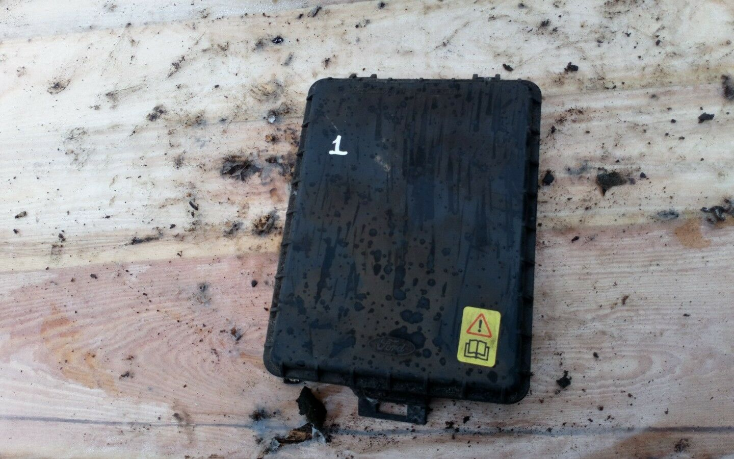 Ford Sierra Mk2 Fuse Box Cover Lid 999 Picclick Uk 1 Of 2 See More