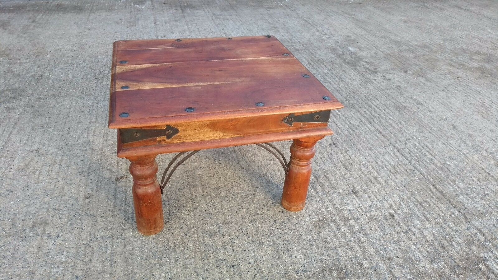 Sheesham end side or lamp table 4900 picclick uk sheesham end side or lamp table 1 of 4 see more aloadofball Choice Image