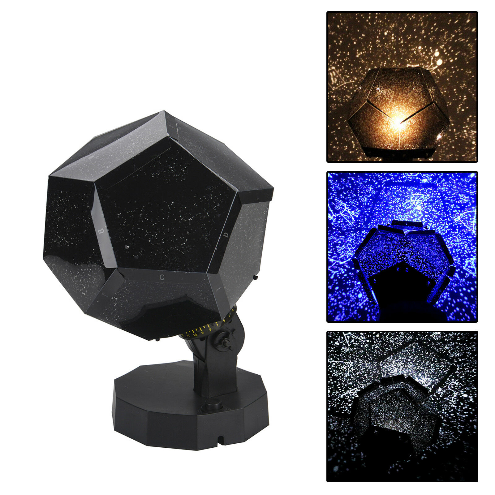 Home Novelty Ceiling Wall Star Projector Lamp Starry Sky Cosmos Night Light Uk 1 Of 7free