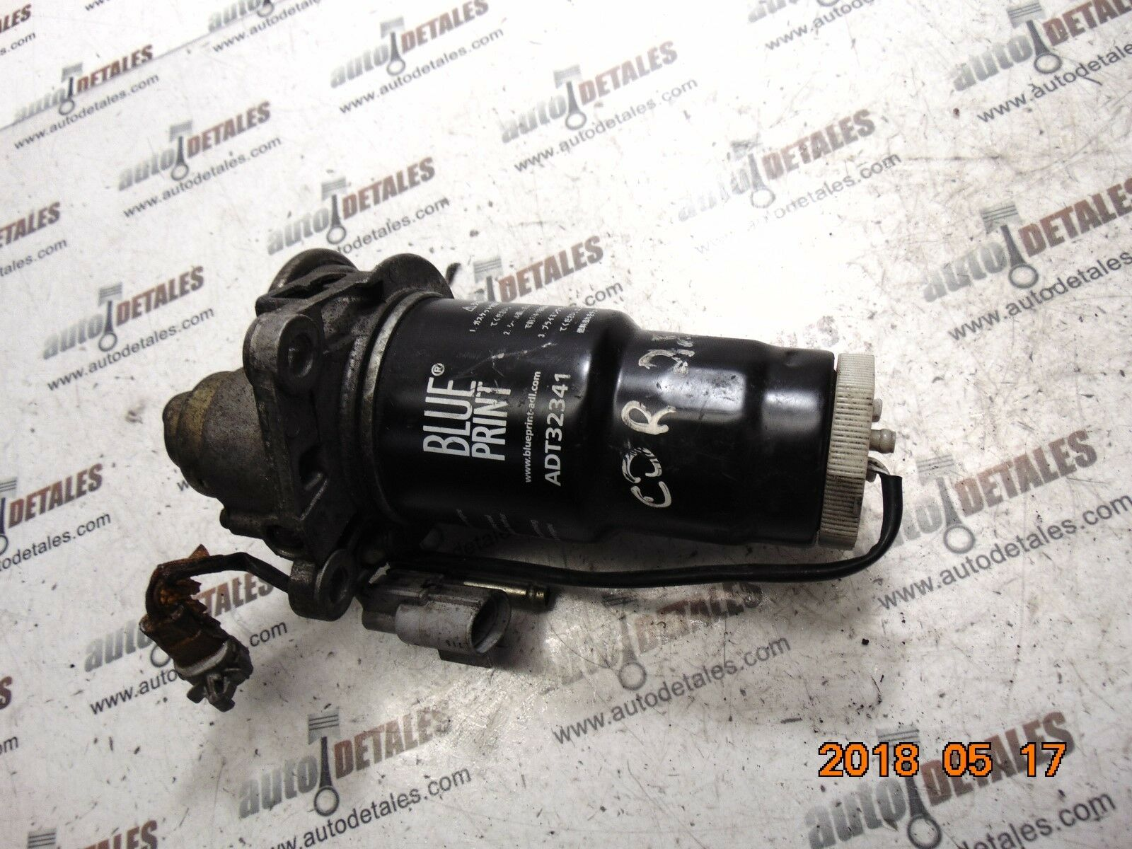 Toyota Corolla Verso 20 Diesel Fuel Filter With Housing Used 2003 1 Of 5 See More
