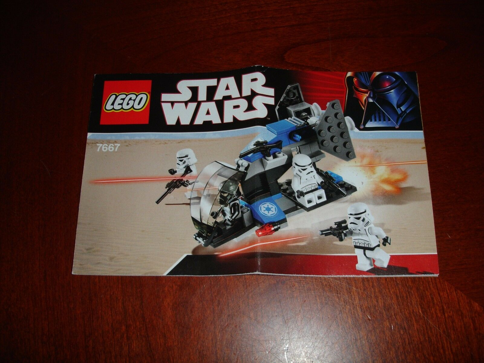 Lego Star Wars 7667 Imperial Dropship Instruction Manual 298