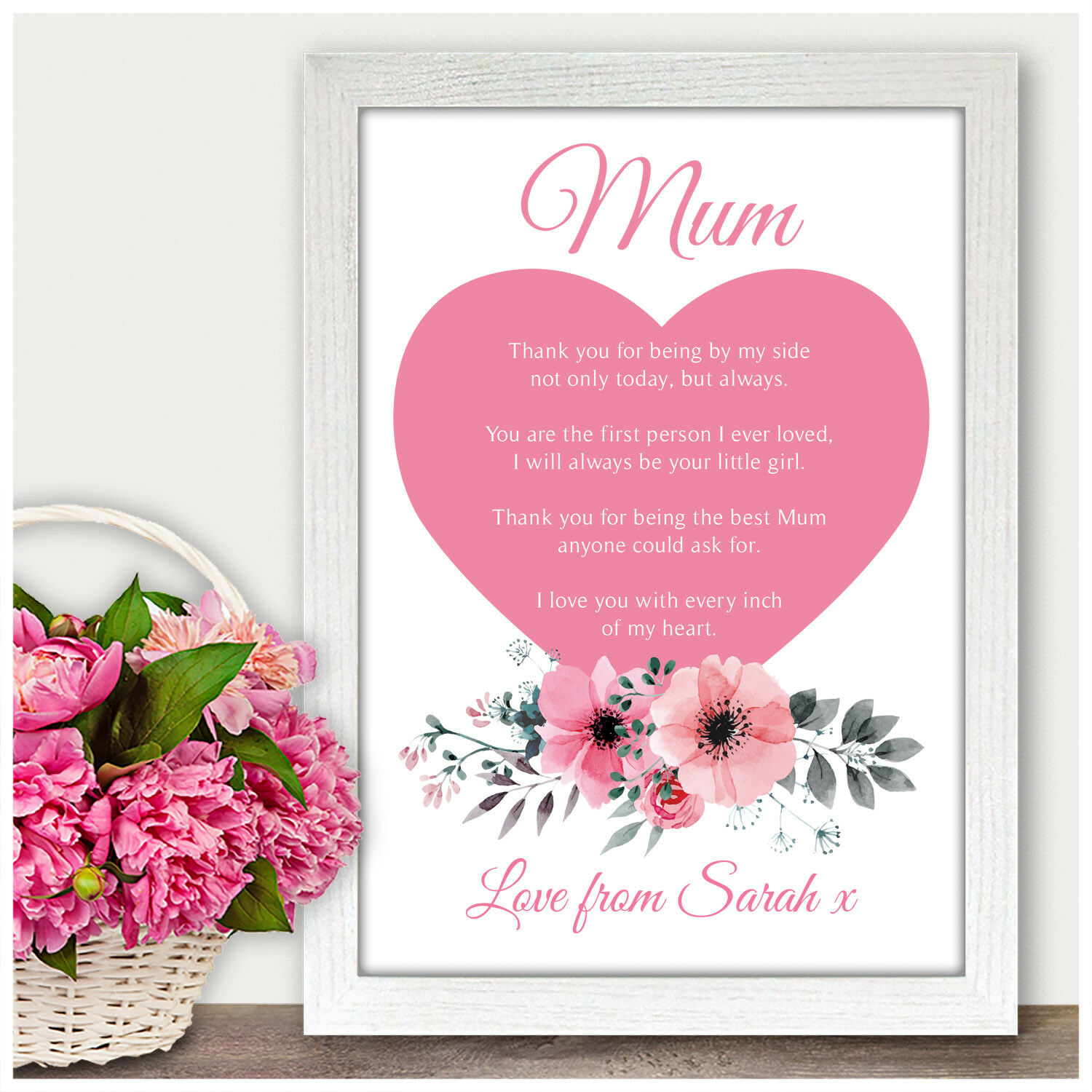 MOTHER OF THE Bride Wedding Gift Personalised Mum Poem Verse Gifts ...