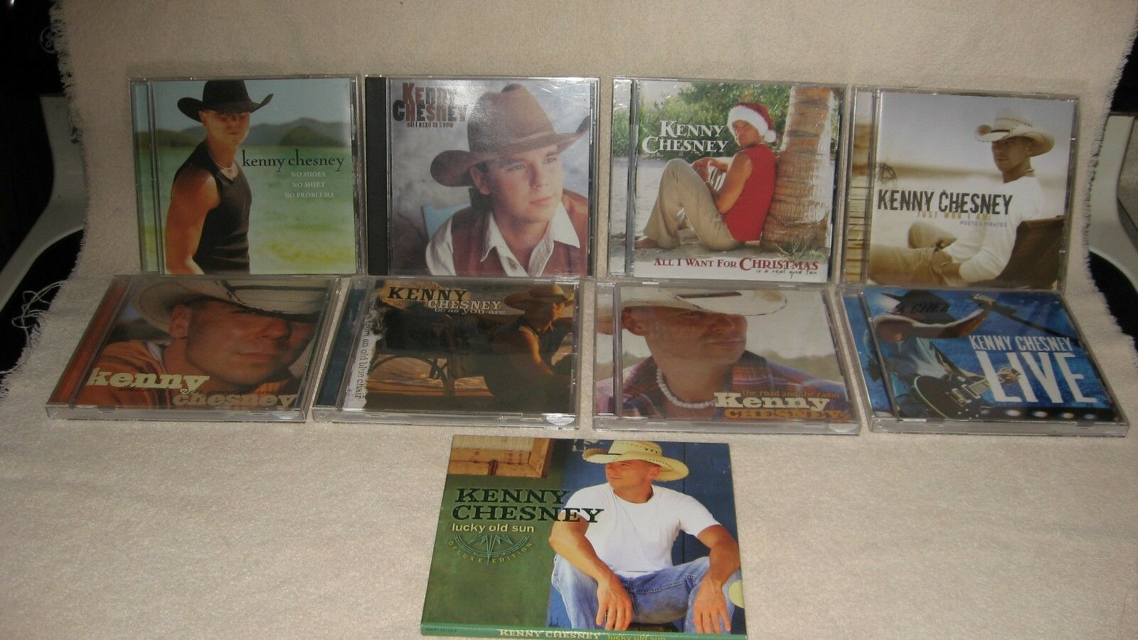 LOT OF 9 Kenny Chesney Cds Country - $29.99 | PicClick