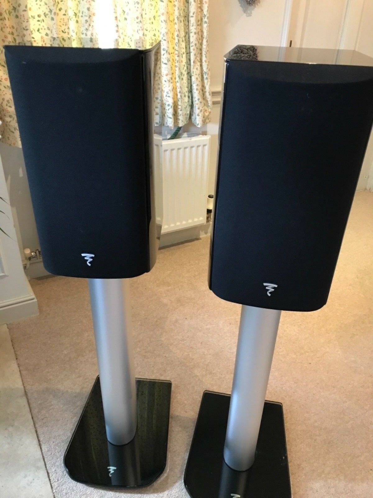 Focal Aria 906 speakers - Black Gloss - plus stands and cables • £755 00
