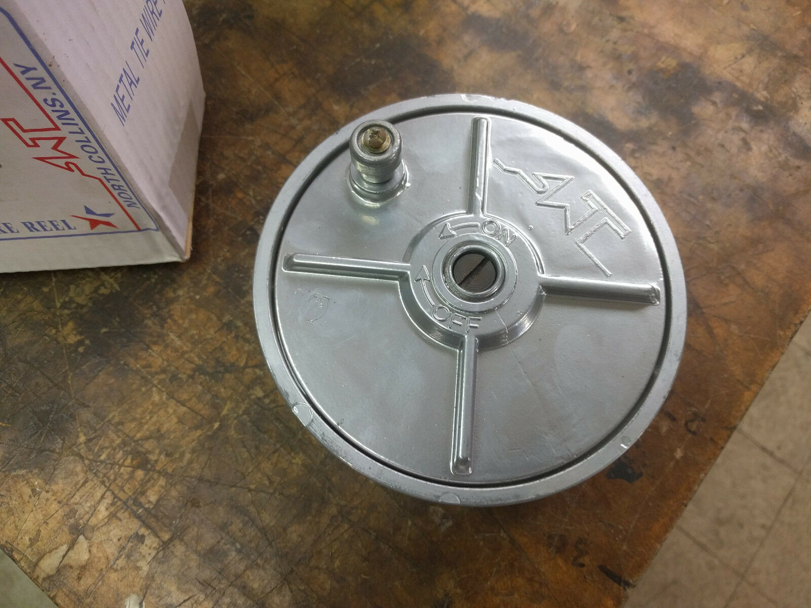 METAL TIE WIRE reel, trapping, construction, concrete - $19.95 ...