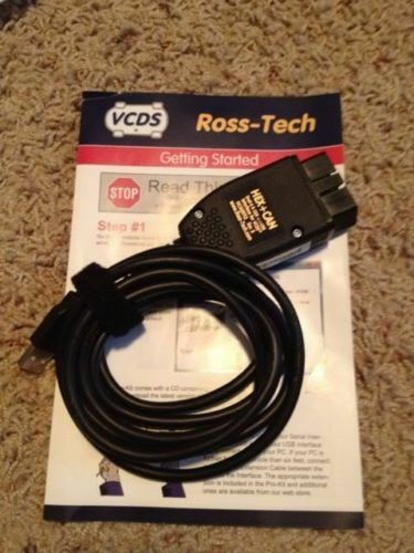 7 day rental ross tech cable hex can usb vcds vagcom vw. Black Bedroom Furniture Sets. Home Design Ideas