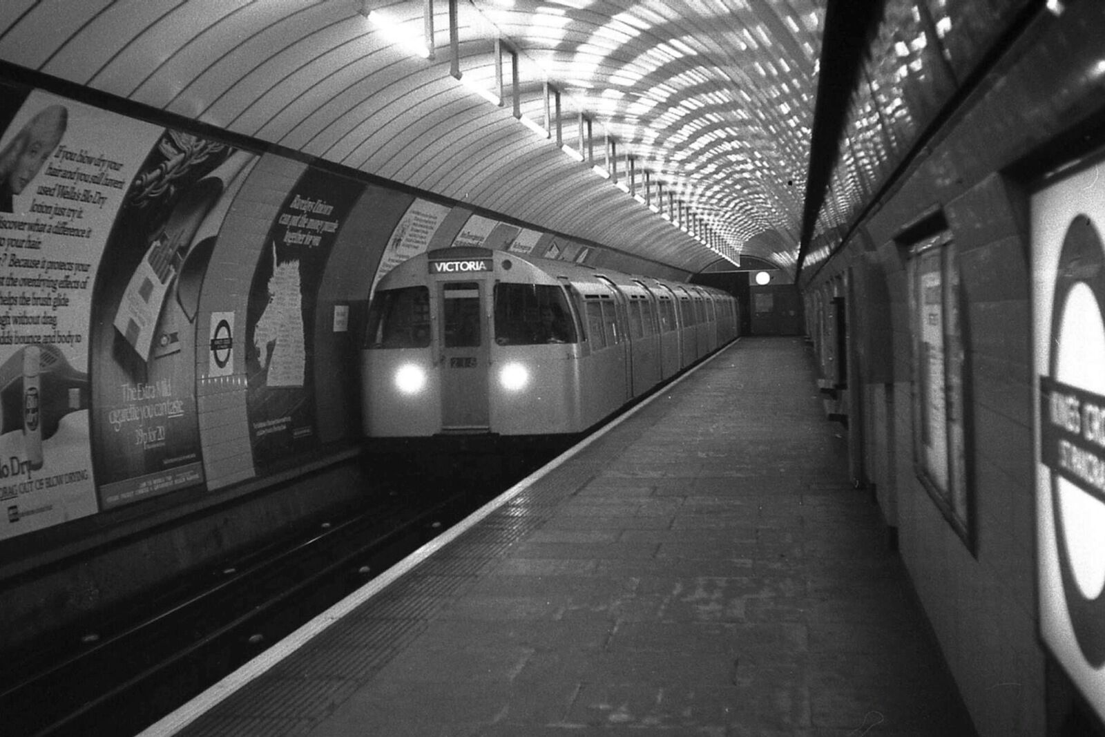 London Underground Victoria Line Kings Cross 1970 Rail - The Victoria Line's really big 50th birthday!