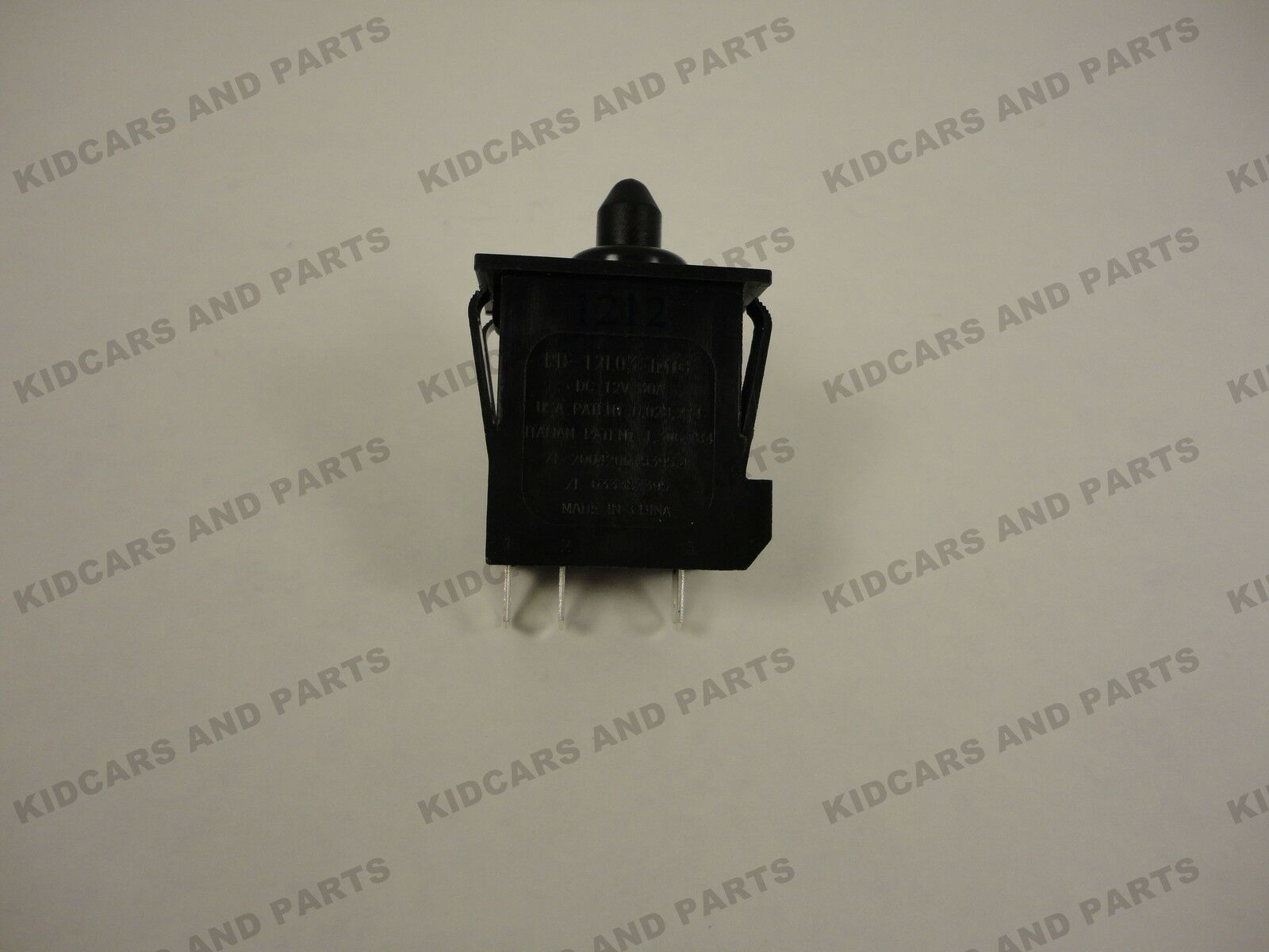 PEG PEREGO ACCELERATOR FOOT PEDAL  SWITCH 12V  **NEW***