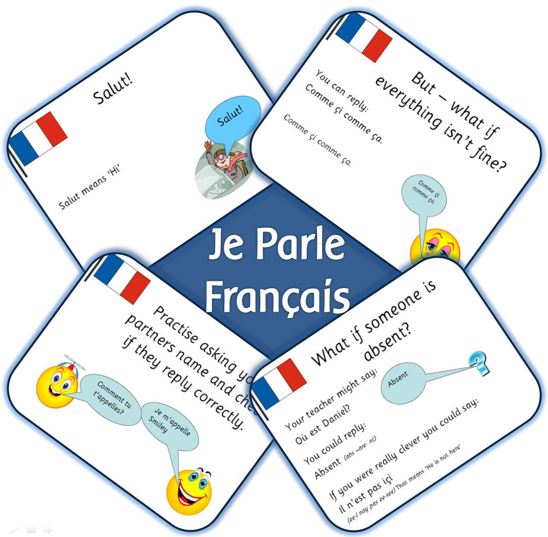 ks2 french mfl unit je parle francais primary iwb