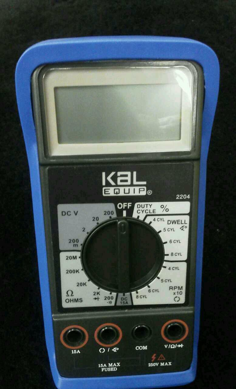 New Kal Equip Digital Multimeter 3799 Picclick Kyoritsu 2001 With Clamp Sensor 1 Of 3only 5 Available