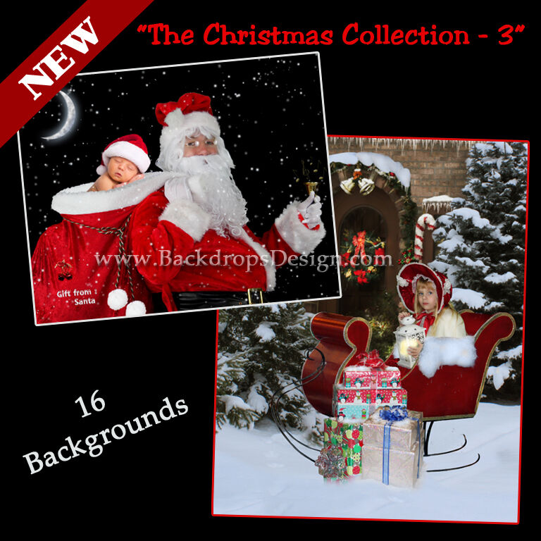 DIGITAL CHRISTMAS PHOTOGRAPHY BACKDROPS CHILDREN HOLIDAY BACKGROUNDS