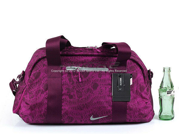 Nike Mise (Female) Legend C72 Medium Sports Gym Bag Purple/Cool Grey BA4467-631