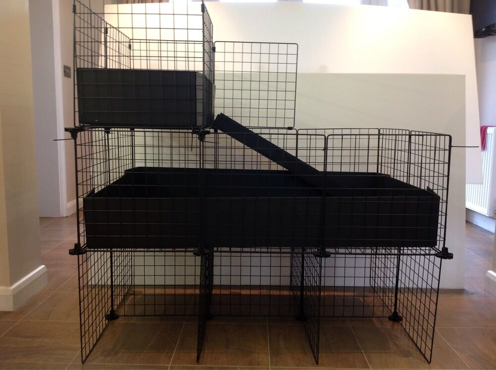 Guinea pig candc cages for Large indoor guinea pig cages