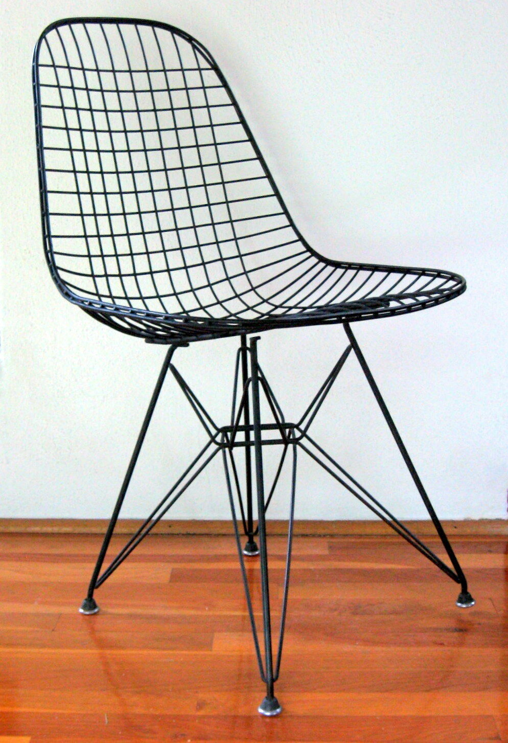Vintage Eames Dkr Wire Chair Cover Herman Miller Dark Gray