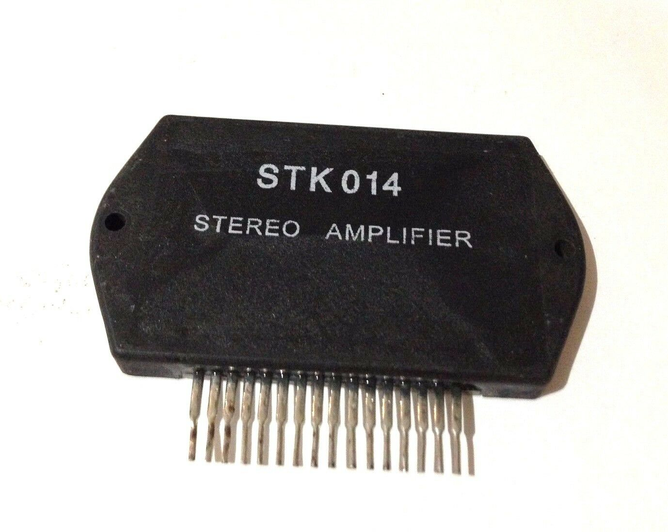 Stk014 Audio Power Amplifier By Sanyo Heat Sink Compound 2695 How To Build Your Own 10watt Using An Ic Tda 2003 1 Of See More