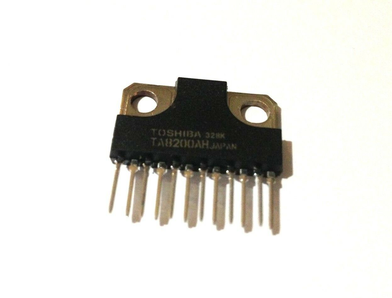 Ta8200ah Dual Audio Power Amplifier New Original Toshiba 395 Frequency 20w Based Lm1875 1 Of See More