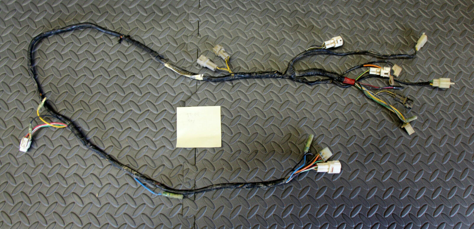 89 Banshee Wiring Harness Solutions Yamaha Diagram 1997 2001 Loom Clear Cdi Hardwired