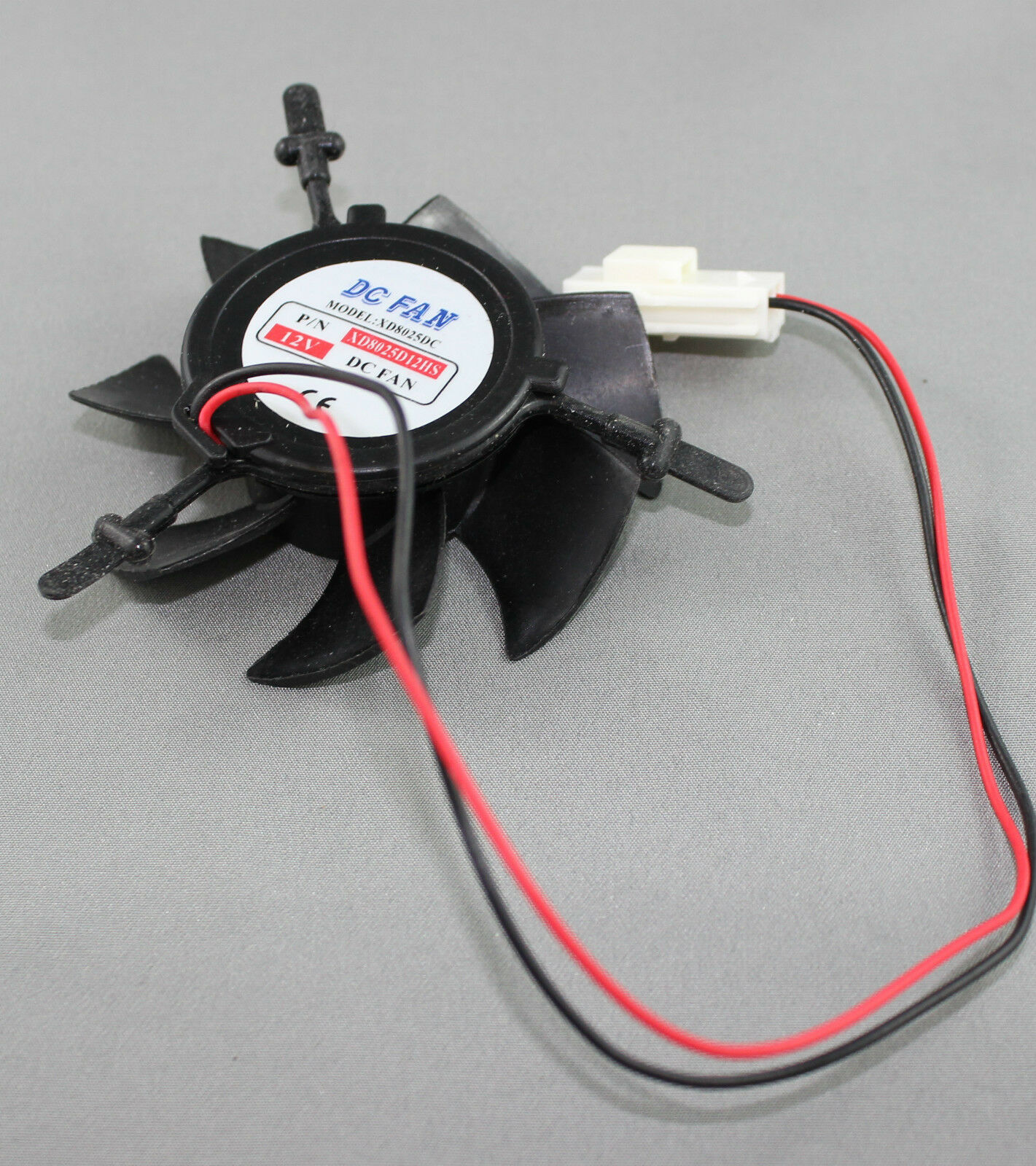 Replacement Fisher & Paykel Fridge Small 12V Fan 820682 884518P E442B E521T E522