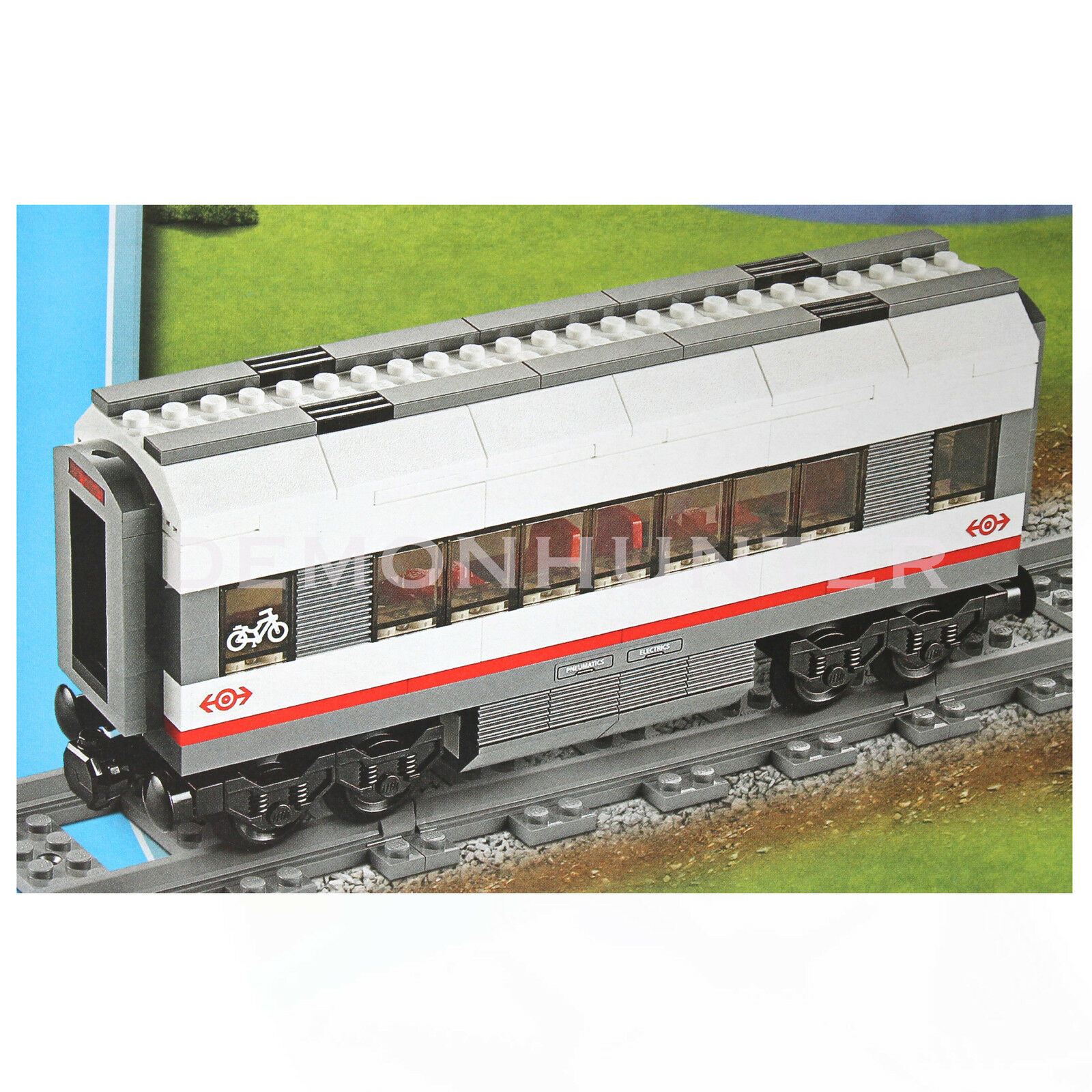 Lego High Speed Carriage Brand New From 60051 High Speed Passenger