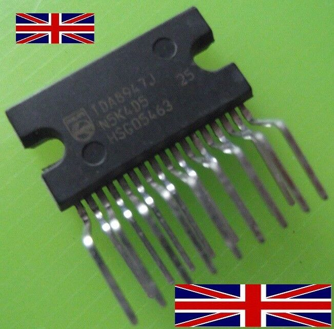 Tda8947 Philips Power Audio Amplifier Ic 479 Picclick Uk Tda2005 Bridge 20w 1 Of 1only 2 Available