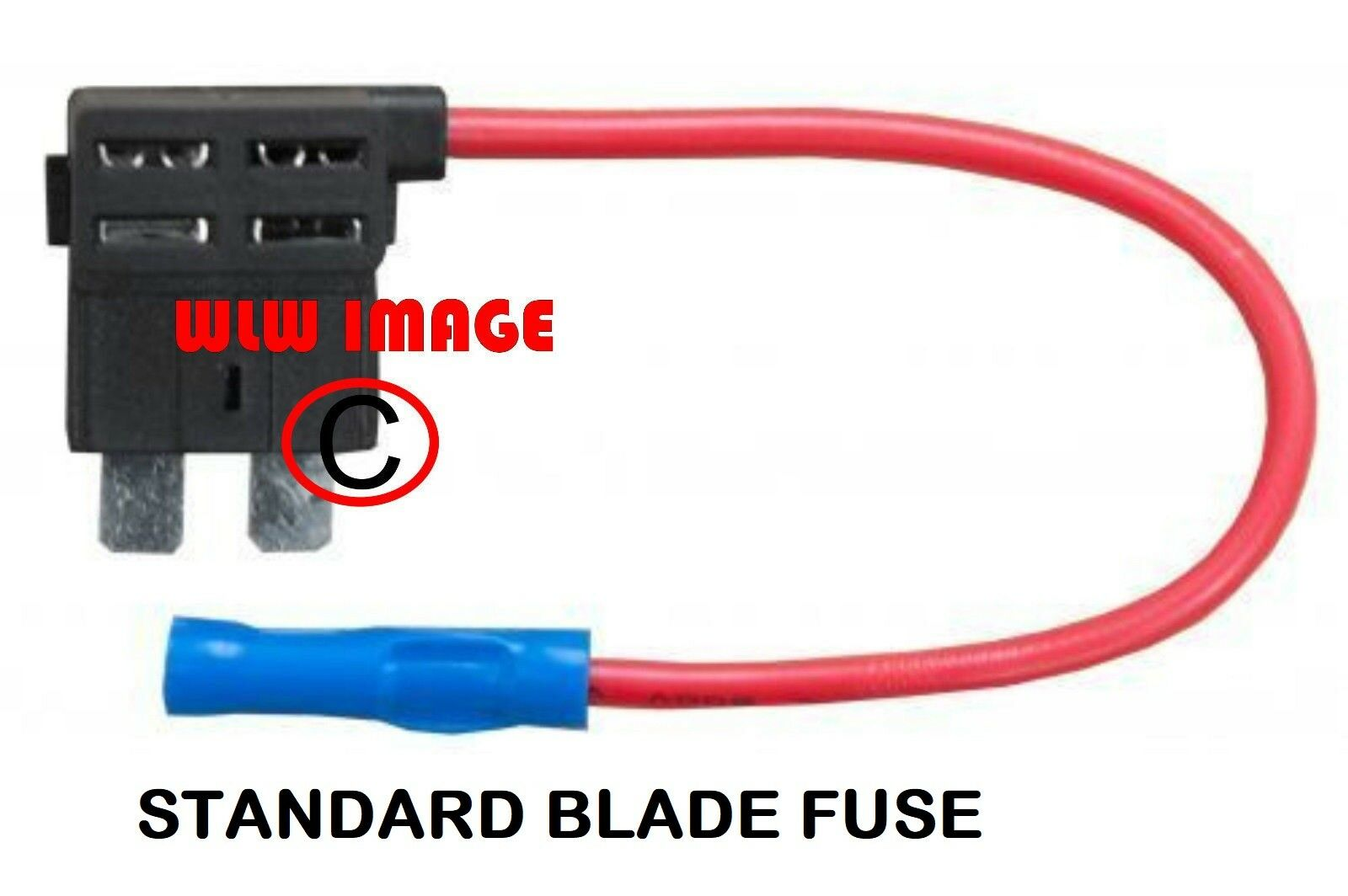 Add A Circuit 20a Standard Blade Fuse Holder Piggyback Tap Wire Buy Mini Cable Fu36 1 Of 1free Shipping