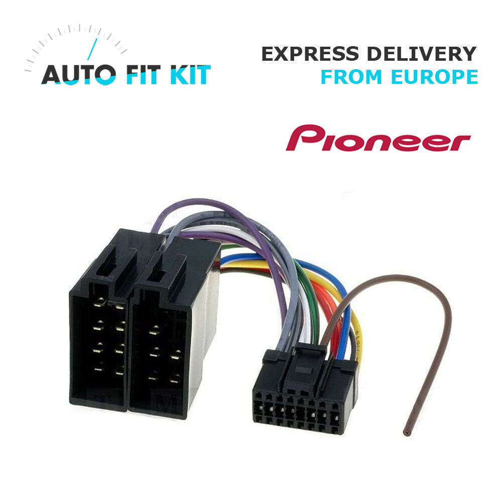 Deh P Pioneer Iso Lead Wiring Loom Wire Radio Connector Power Ford Factory Harness 16 Pin Adaptor 1 Of 1only 3 Available See More
