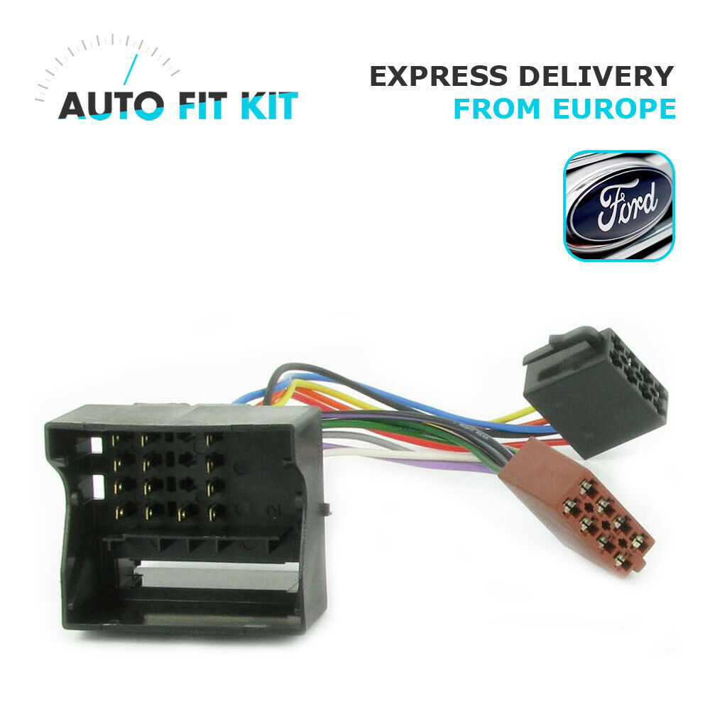ford 2004 gt wiring lead harness adapter iso car radio stereo replacement 8 99 picclick