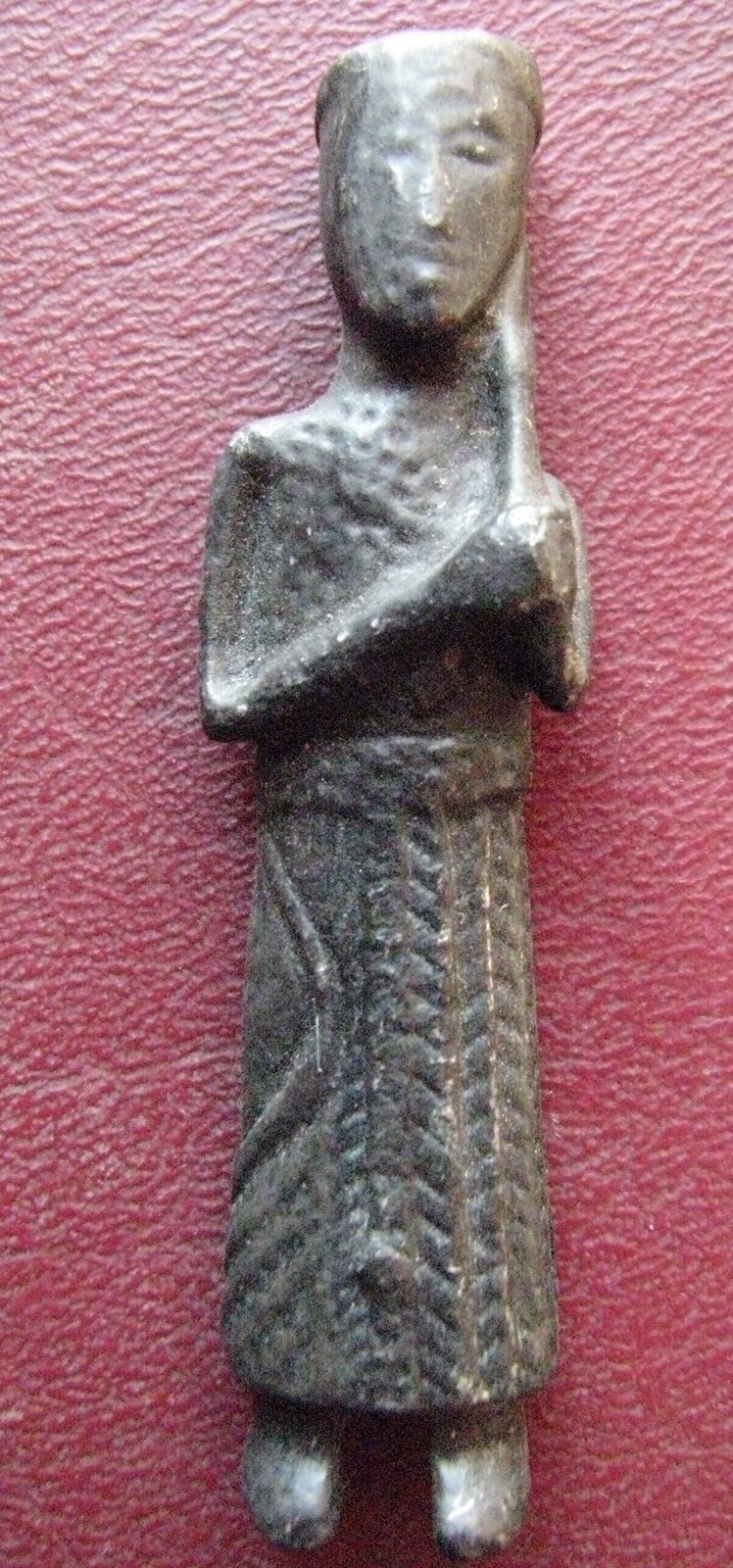 Authentic Ancient Artifact > Early Medieval Magi Statue Figure > CASPER  12757