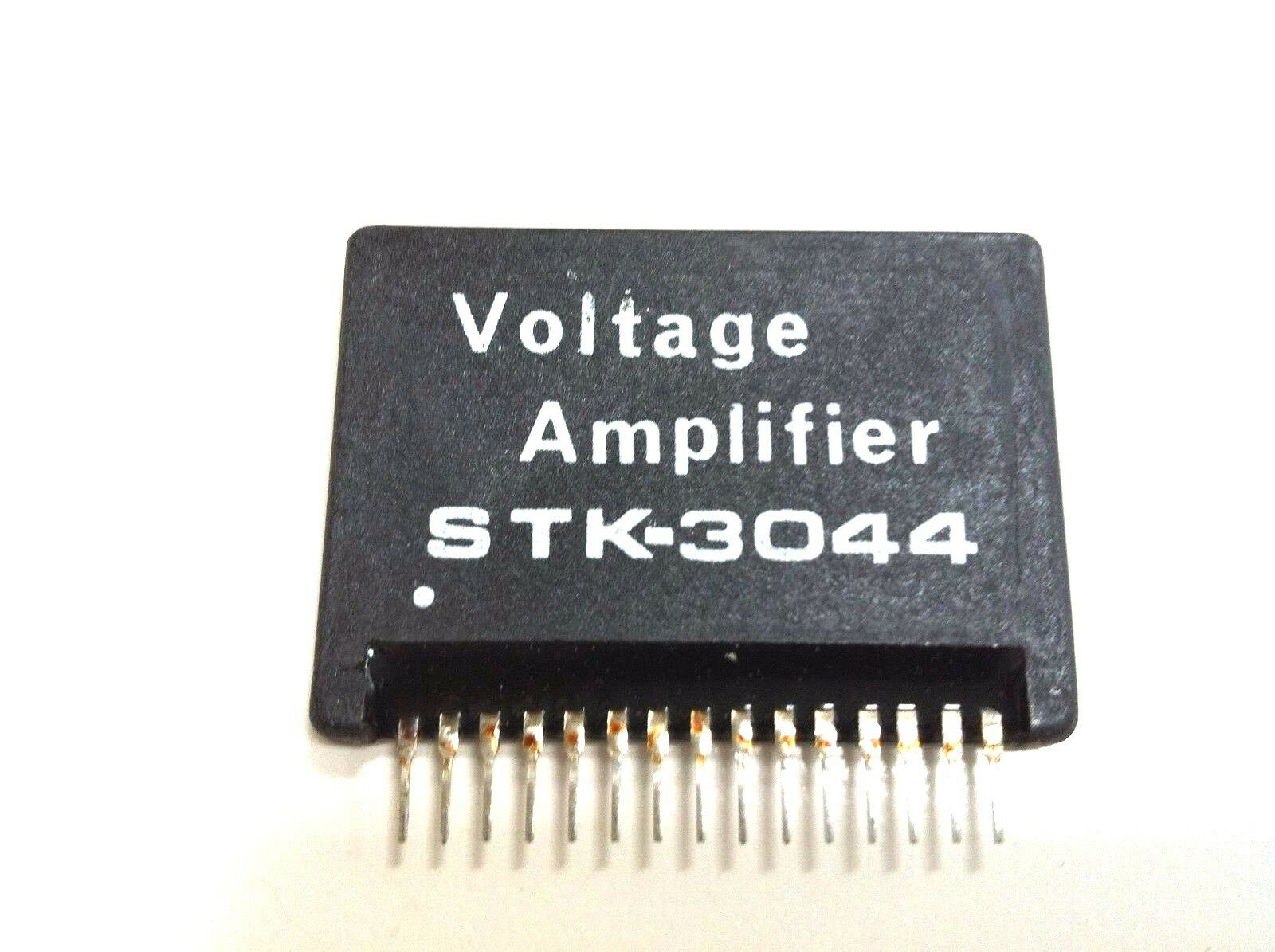 Stk3044 2 Channel Af Power Amplifier Heat Sink Compound By Sanyo Lm380 25 Watt 1 Of See More
