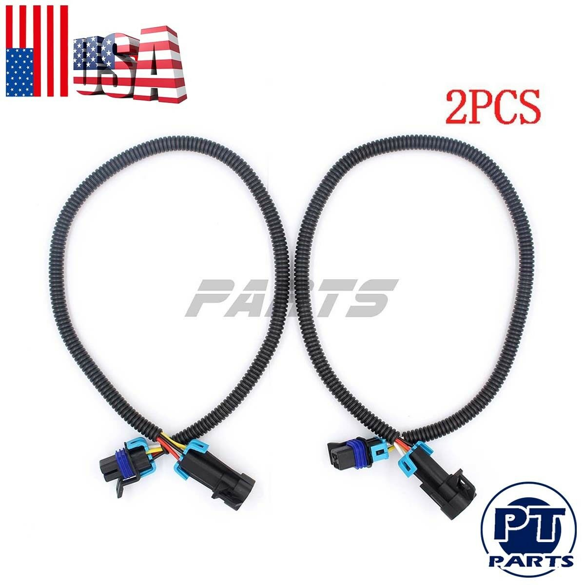 2pcs 24 Ls1 Camaro Firebird Oxygen O2 Sensor Header Extension Wiring Specialties Install Harness 1 Of 4free Shipping See More