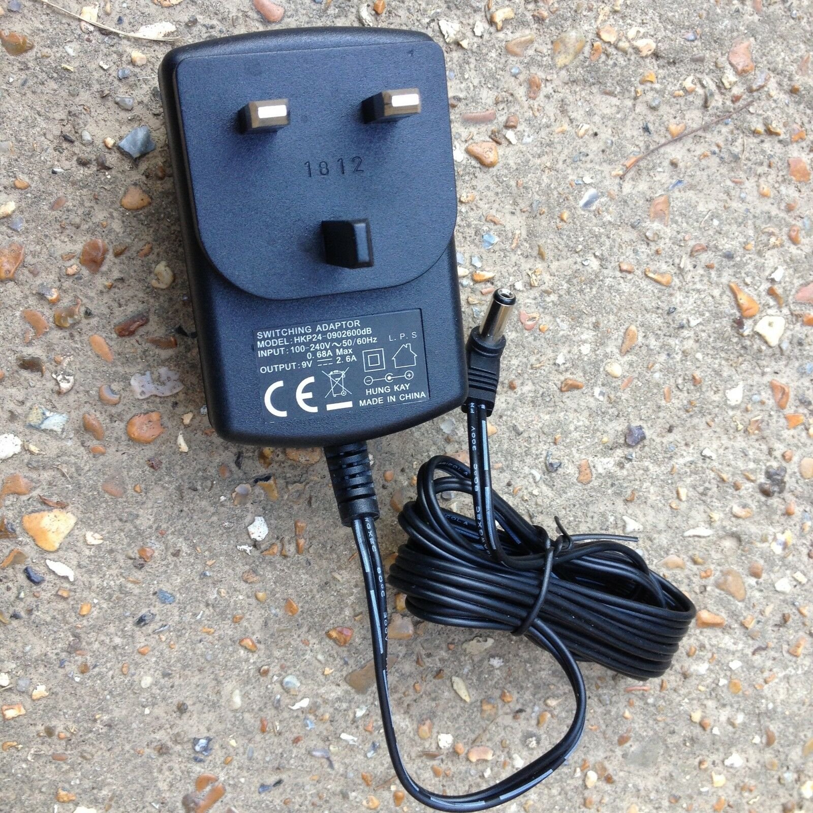 Switching Power Supply Ac Adapter Hkp24 0902600db Input 100 240v 9v Output New 1 Of See More