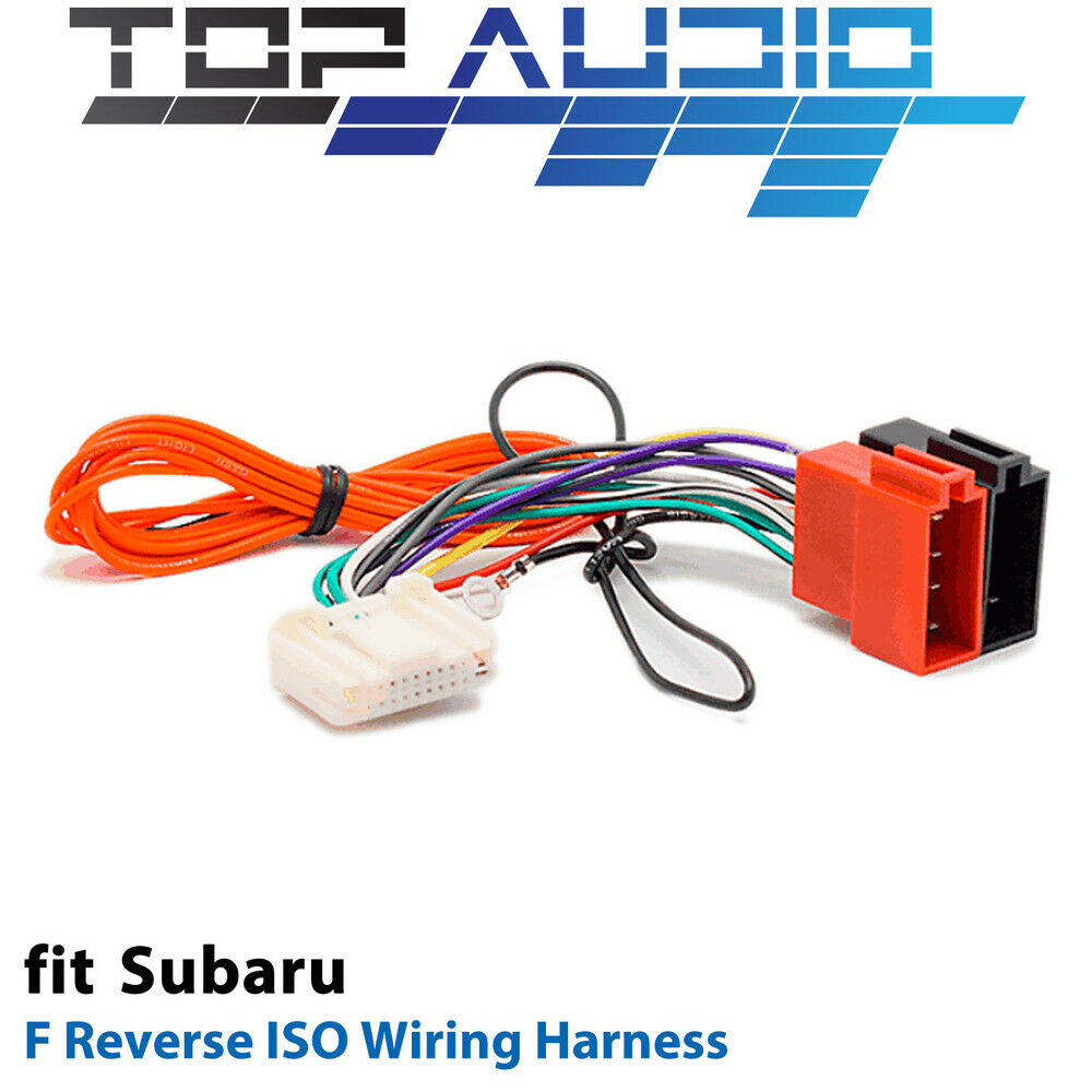 F Reverse Iso Wiring Harness For Subaru Nissan App091f Adaptor Cable 2014 Forester 1 Of 1only 2 Available
