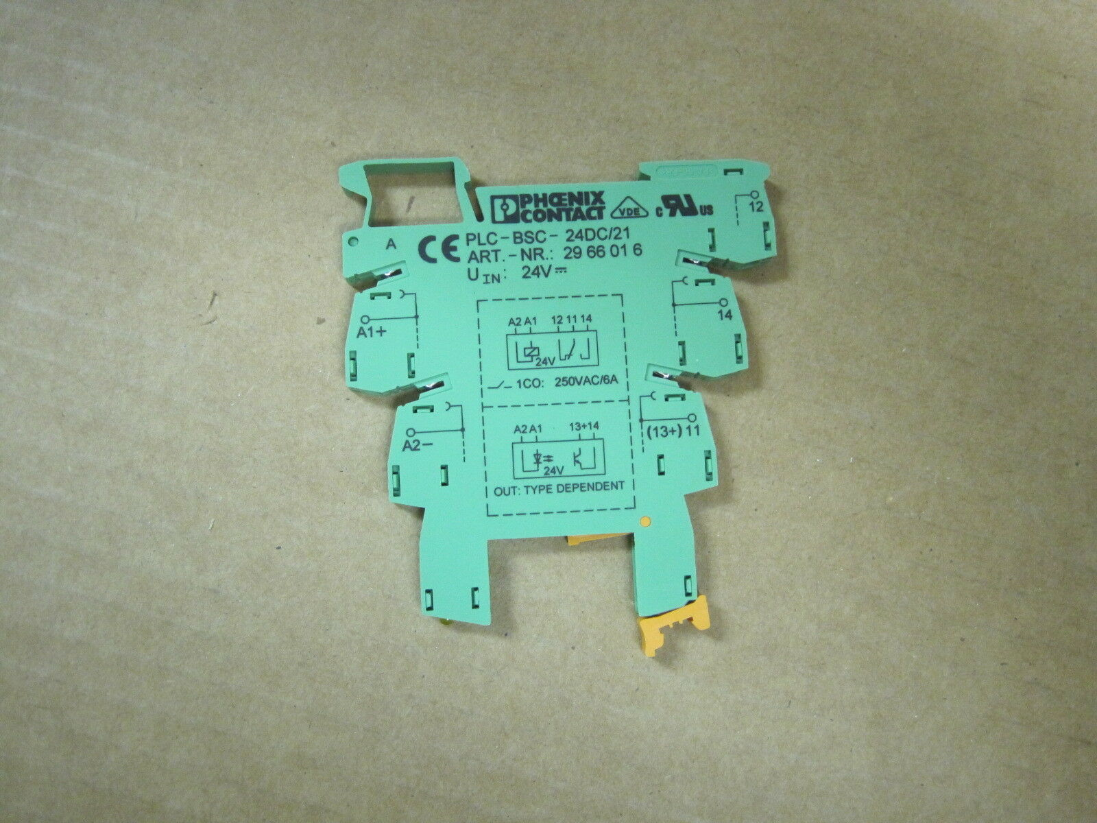 Phoenix Contact Plc Bsc 24dc 21 Varioface Relay Socket Terminal Block 1 Of 1only 4 Available See More