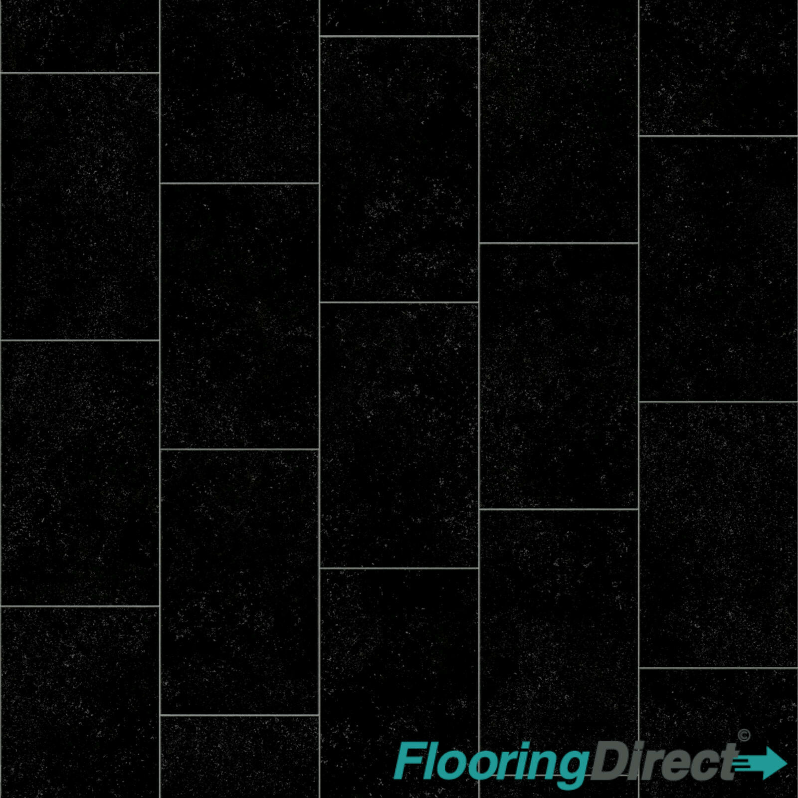 black slate tile effect vinyl flooring kitchen bathroom