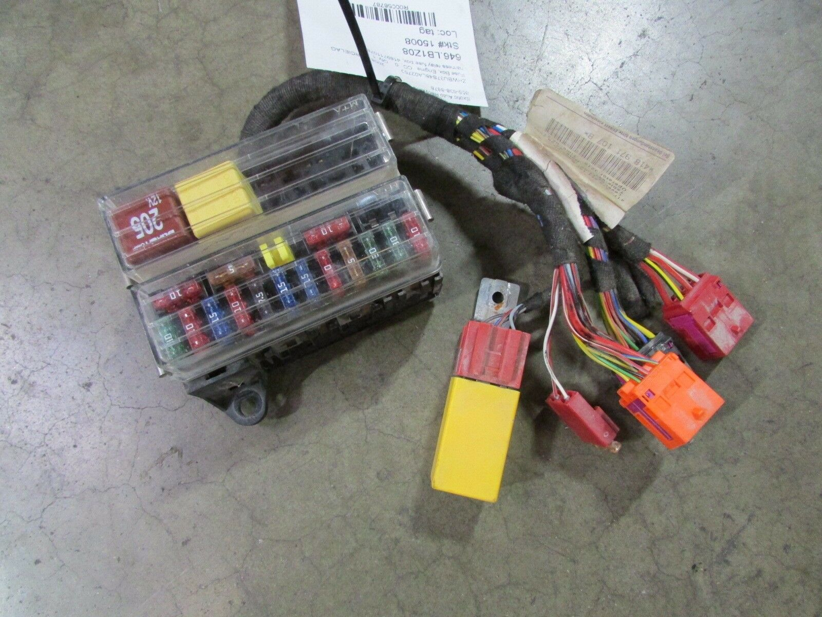 Lamborghini Murcielago Lp640 Harness Relay Fuse Box Used P N 1 Of 6only Available