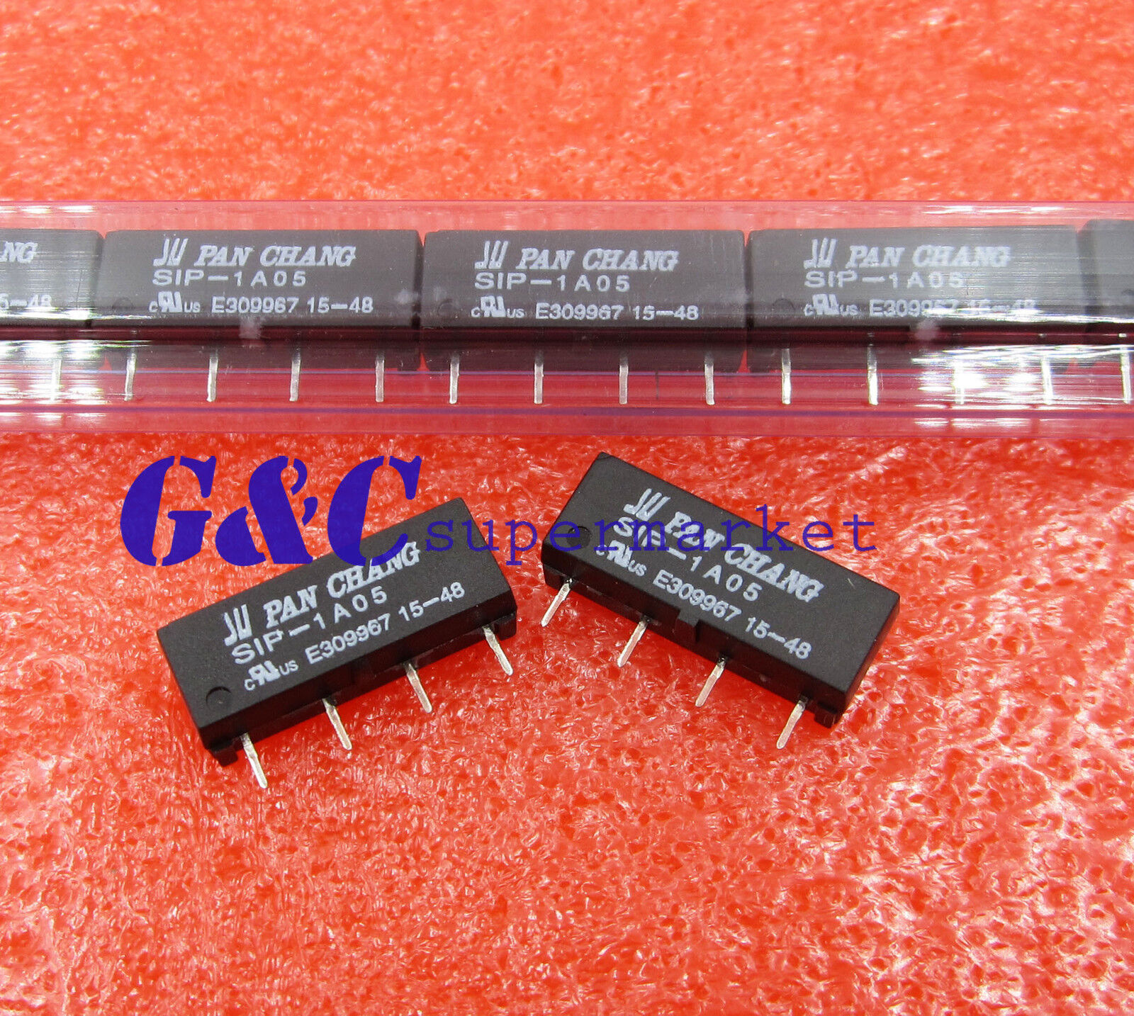 5v Relay Sip 1a05 Reed Switch For Pan Chang 4pin New