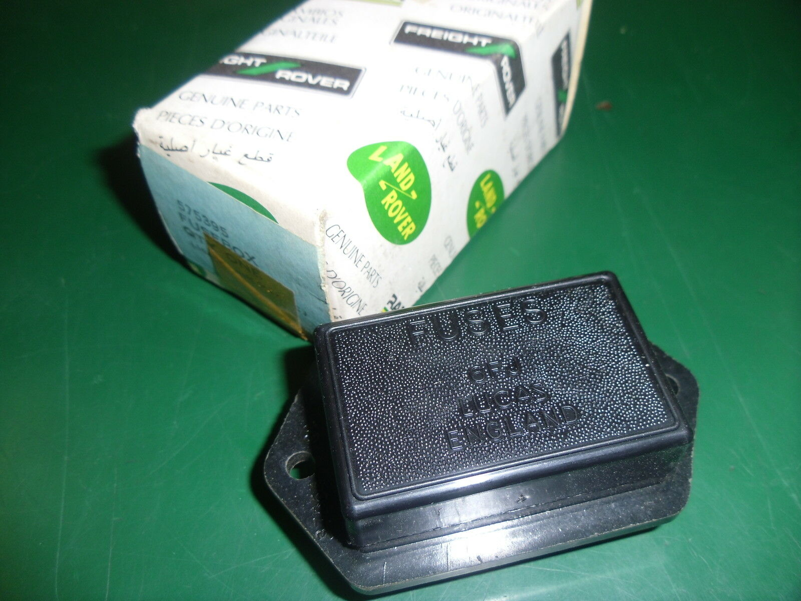 Land Rover Series 3 New Genuine Fuse Box 575395 1 of 1FREE Shipping ...