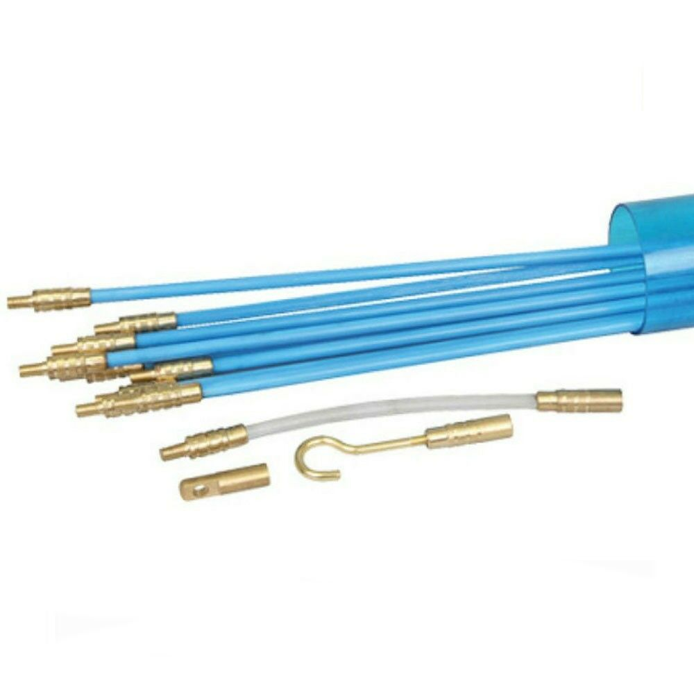 CABLE ROD PULLER Draw String Rods/tool Mains Wire Electrician Snake ...
