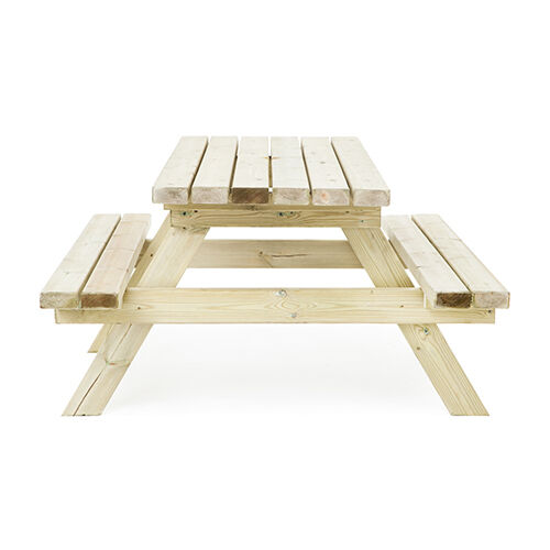 FT PRESSURE Treated Wood Picnic Table Bench Commercial Grade Pub - Pressure treated wood picnic table