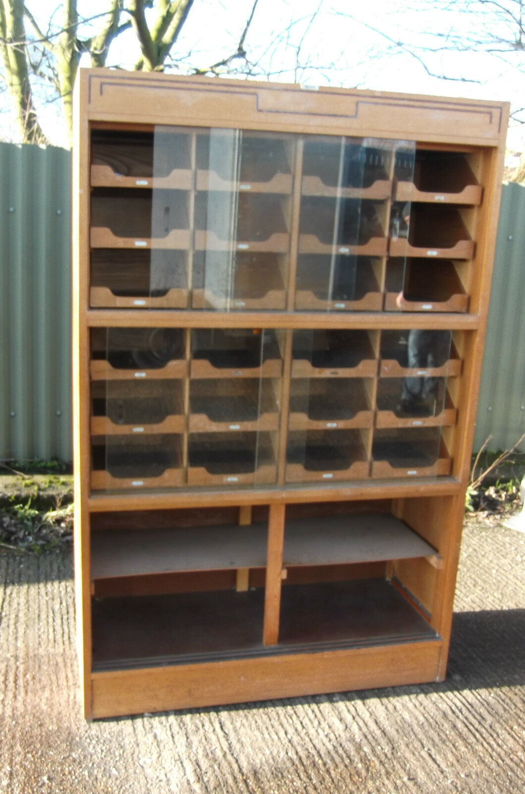 Superb 24-Drawer Haberdashery Shop Display Cabinet-2 Man Delivery Available