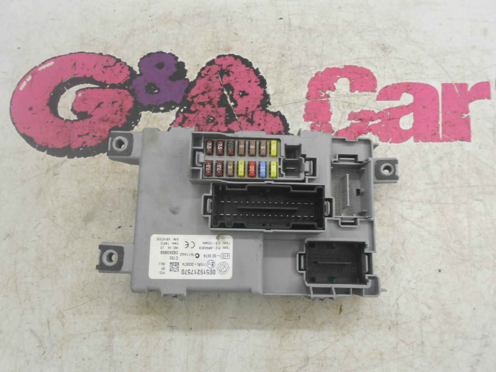 Fiat Doblo 14 16v Petrol Fuse Box Board 2009 15 5999 In Stilo 1 Of 3only Available