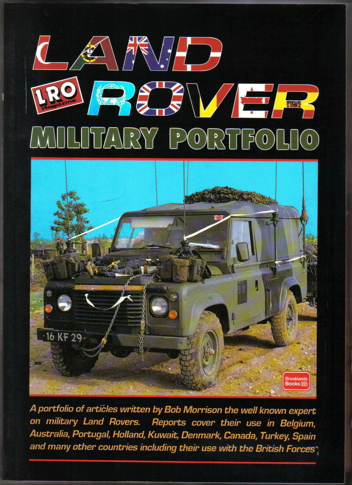 land rover military portfolio of articles by bob morrison pub brooklands book. Black Bedroom Furniture Sets. Home Design Ideas