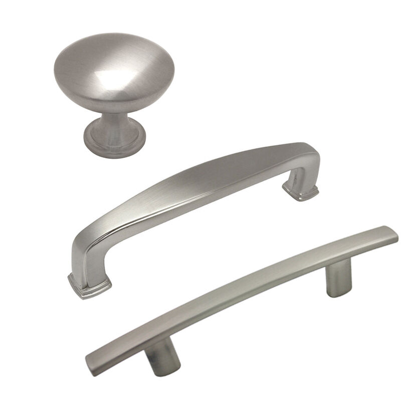 Cosmas 3.5, 4 Inch Satin Nickel Cabinet Pulls 1 Of 1 See More