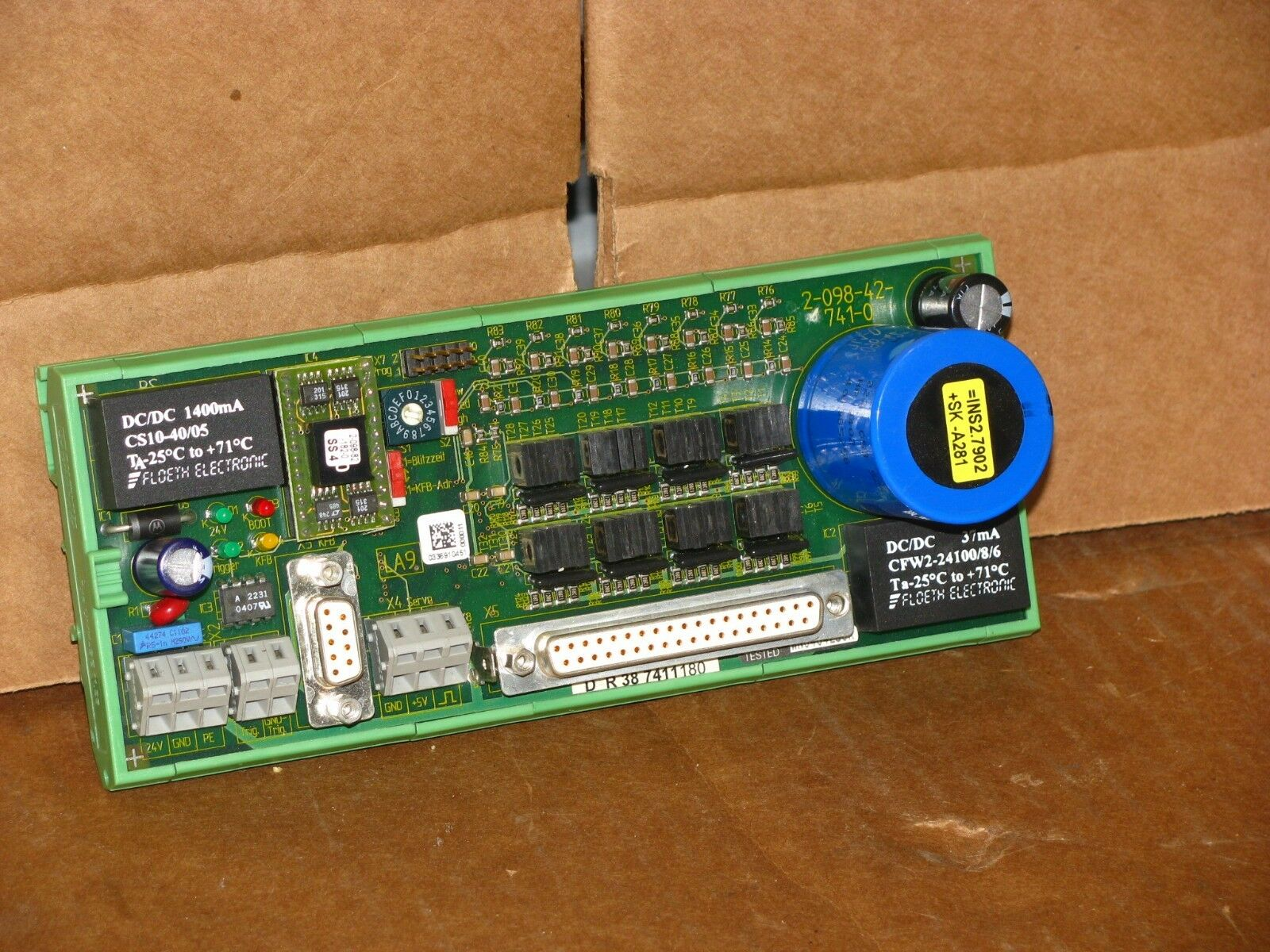 Krones 2 098 42 741 0 Circuit Board 26550 Picclick 741circuit1 1 Of 3only Available