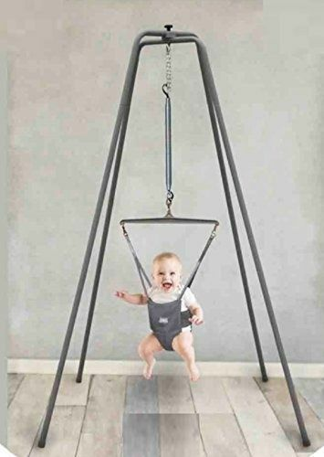 Jolly Jumper Exerciser With Super Stand Door Clamp