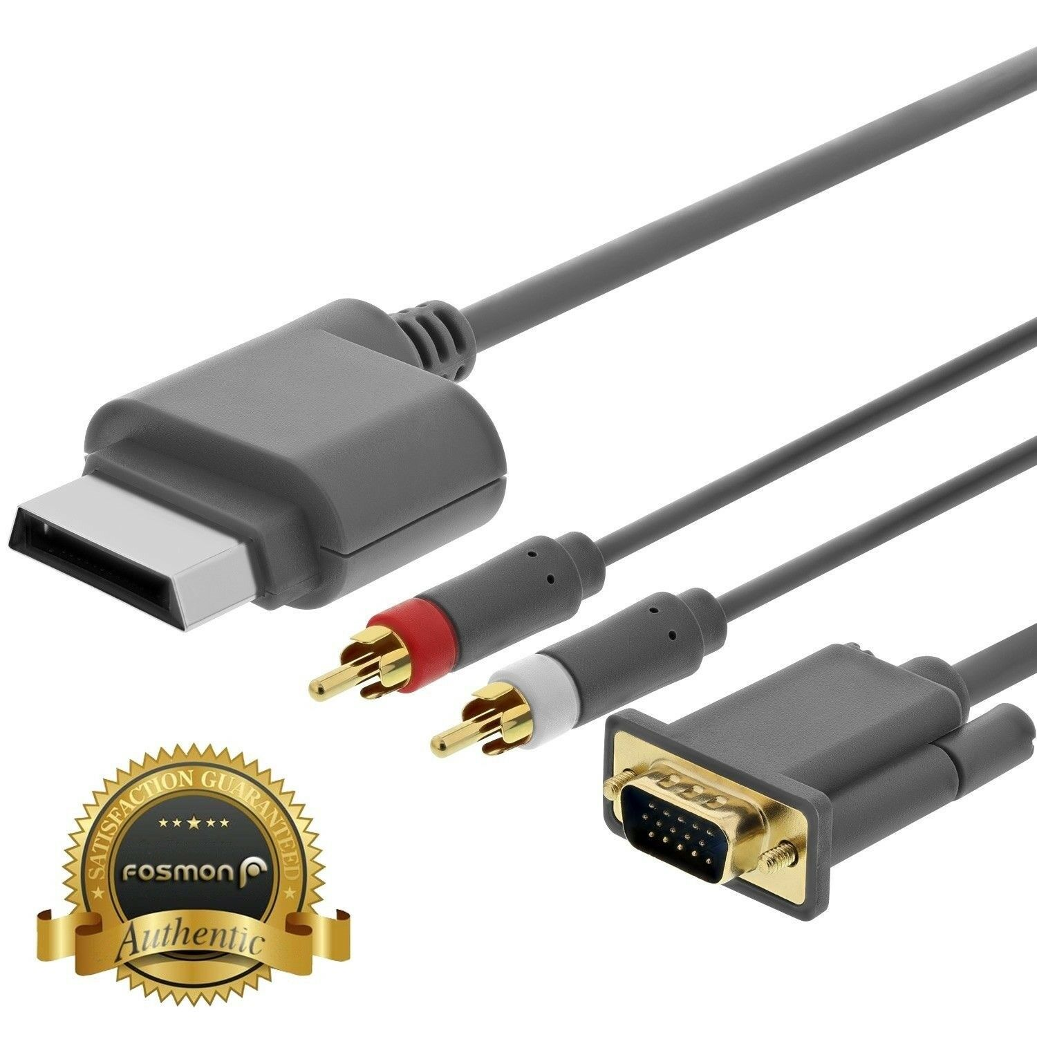 HD HDTV AV VGA Video Optical RCA Audio Cable Cord Wire for Microsoft ...