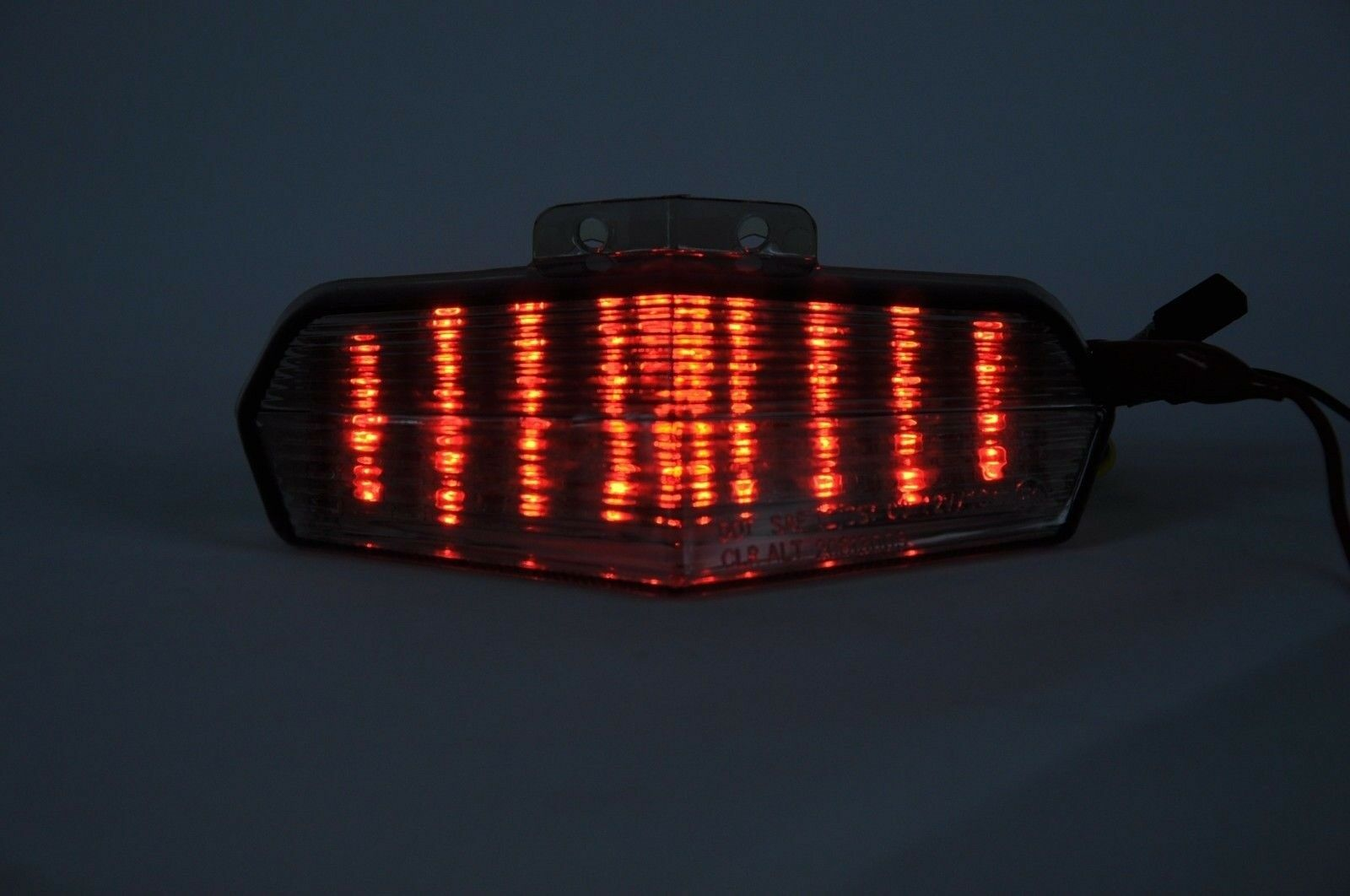 Tail Light Led Clear Integrated Turn Signal Ducati 02 07 749 999 2005 Wiring Harness 1 Of 6only 3 Available