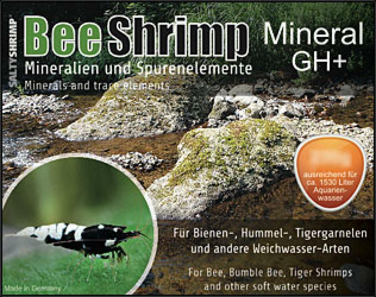 SALTY SHRIMP ** BEE SHRIMP GH+  ** BEST PH AND MINERALS FOR RO WATER ** 1kg