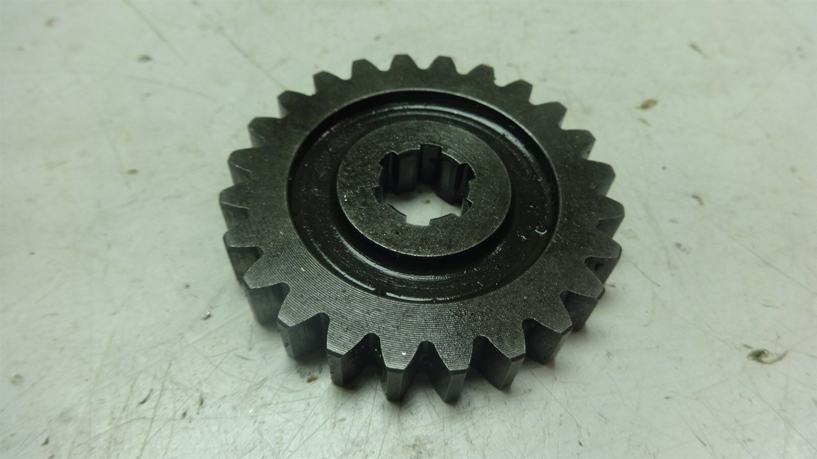early yamaha xs650 ym208b engine large starter reduction gear rh picclick com